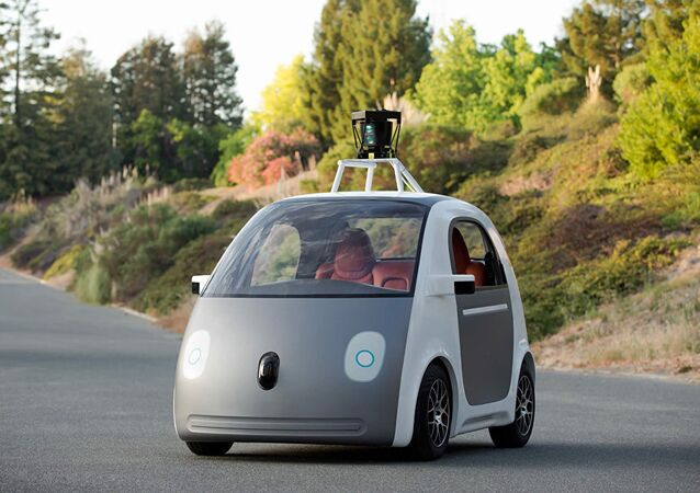 Self driving Google vehicle
