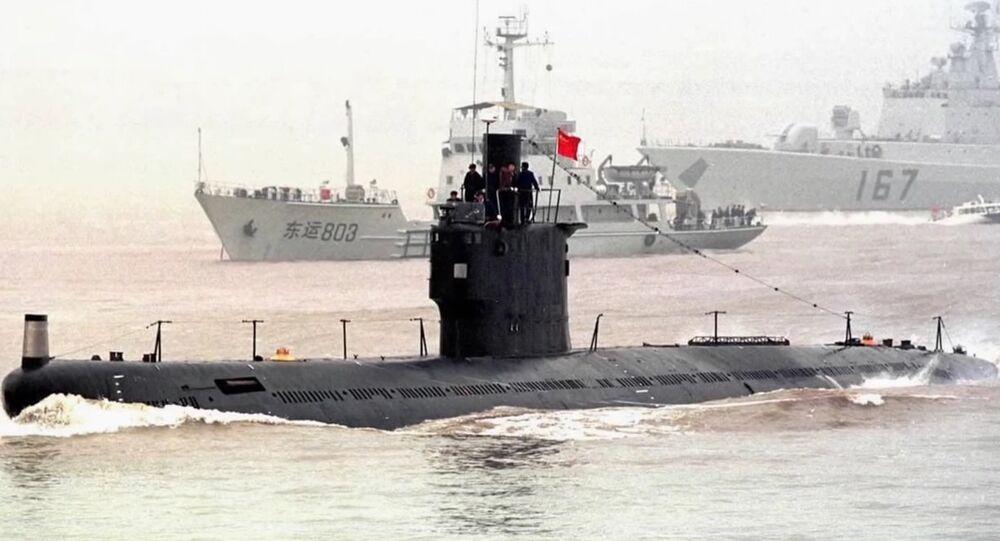 Type 035G Class Submarine. (File)