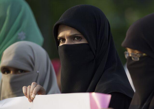 Muslim women. (File)