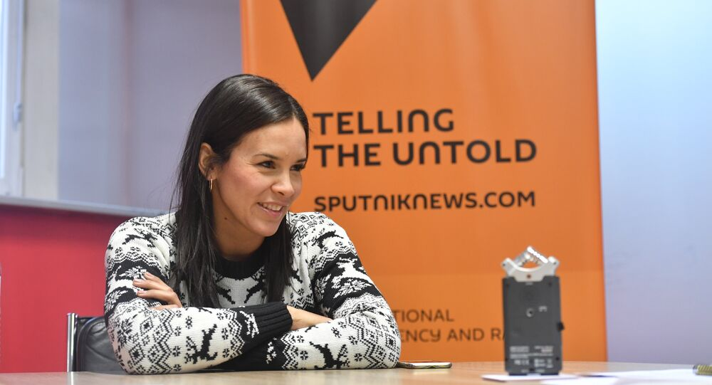 Alejandra Benitez, ex-minister of Sport of Venezuela
