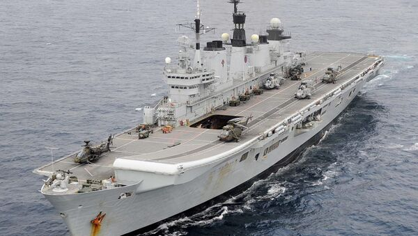 HMS Illustrious - Sputnik International