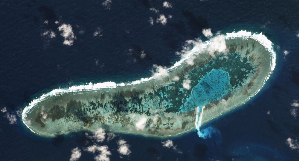 Ladd Reef, Spratly Islands, South China Sea