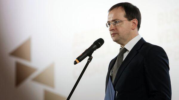 Russian Minister of Culture Vladimir Medinsky - Sputnik International