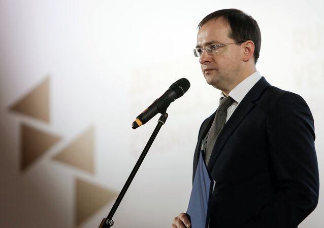 Russian Minister of Culture Vladimir Medinsky