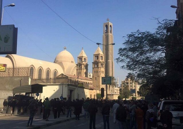 Saint-Mark's Coptic Cathedral in Cairo