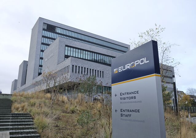 Exterior view of the Europol headquarters in The Hague, Netherlands, Friday, Dec. 2, 2016