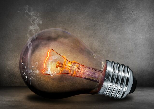 Lightbulb, electricity