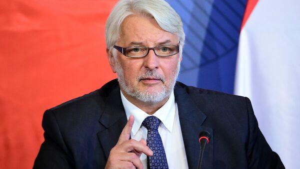 Polish Minister of Foreign Affairs Witold Waszczykowski - Sputnik International