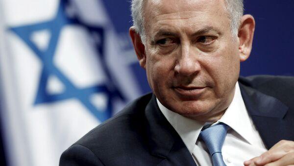 Israel's Prime Minister Benjamin Netanyahu participates in a forum hosted by the Center for American Progress in Washington November 10, 2015 - Sputnik International