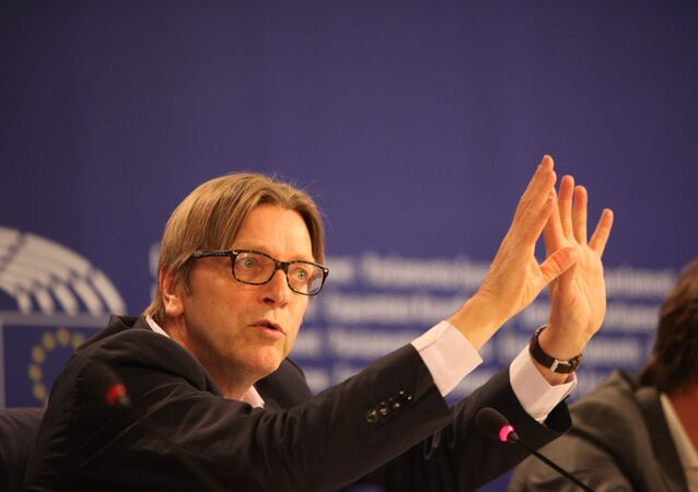 ALDE President Guy Verhofstadt