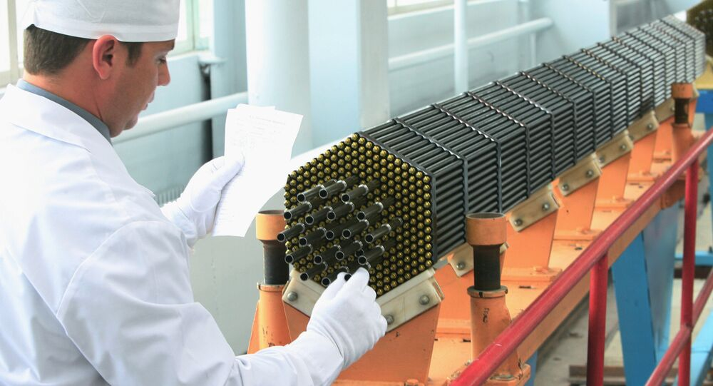 Nuclear power reactor fuel assembly at the Novosibirsk Chemical Concentrate Works