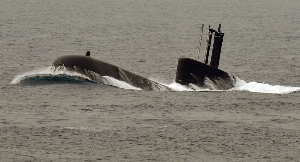 South Korean Navy's 209 class submarine