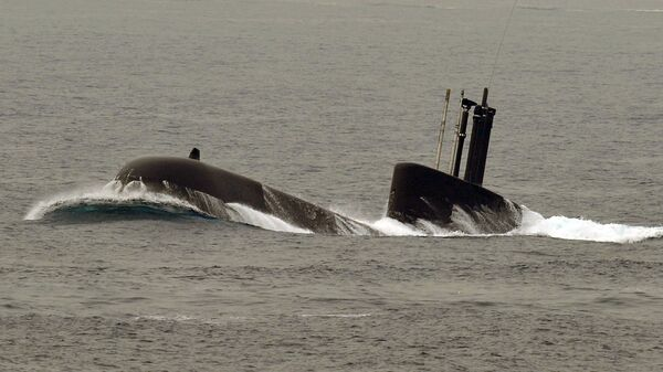 South Korean Navy's 209 class submarine - Sputnik International