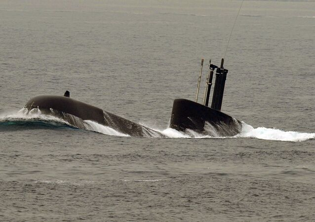 South Korean Navy's 209 class submarine