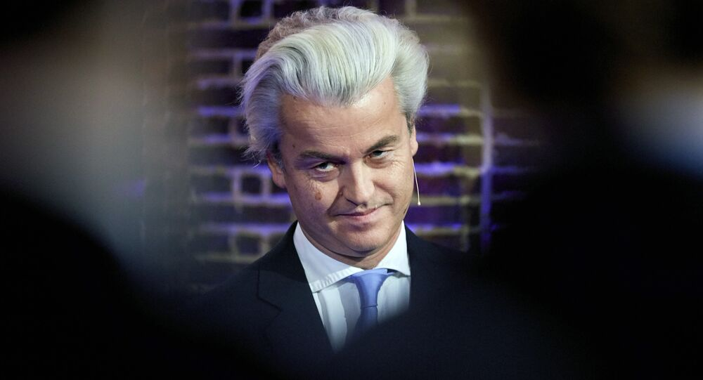 Dutch far-right Freedom Party leader Geert Wilders