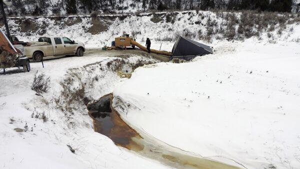 North Dakota Oil Spill - Sputnik International
