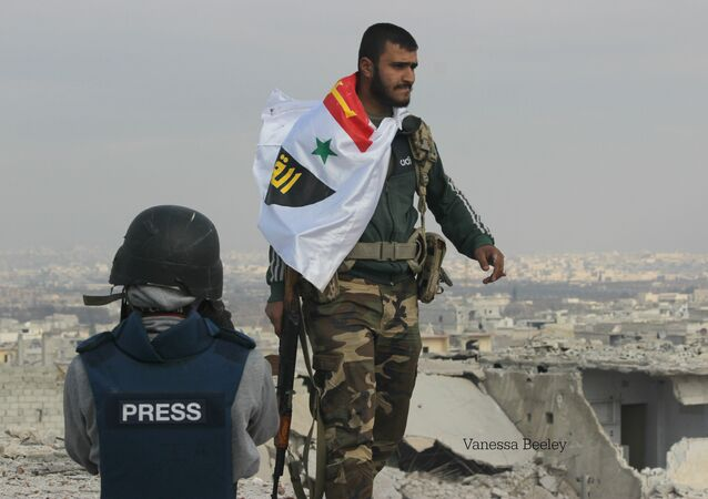 Picture of Syrian Arab Army soldier