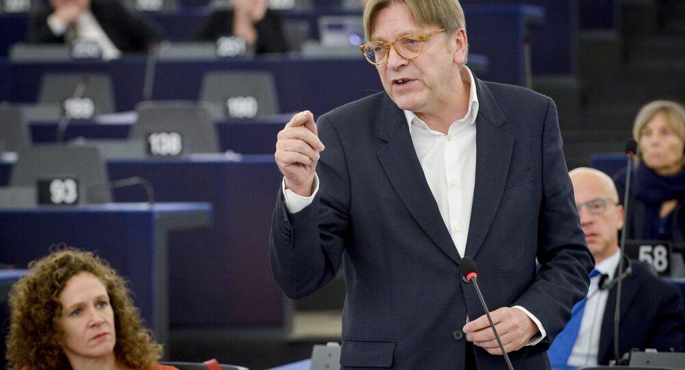 Guy Verhofstadt, the European Parliament's chief Brexit negotiator