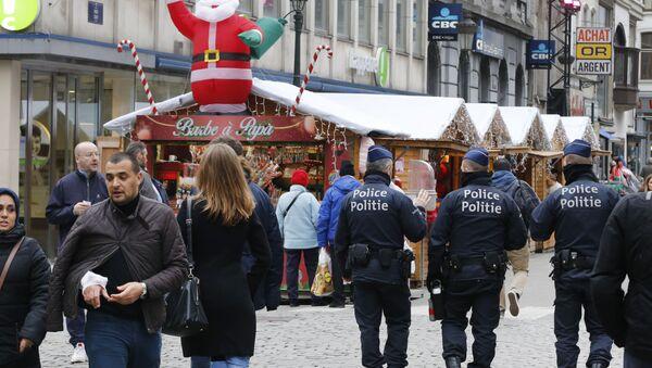 Belgium police officers. (File) - Sputnik International