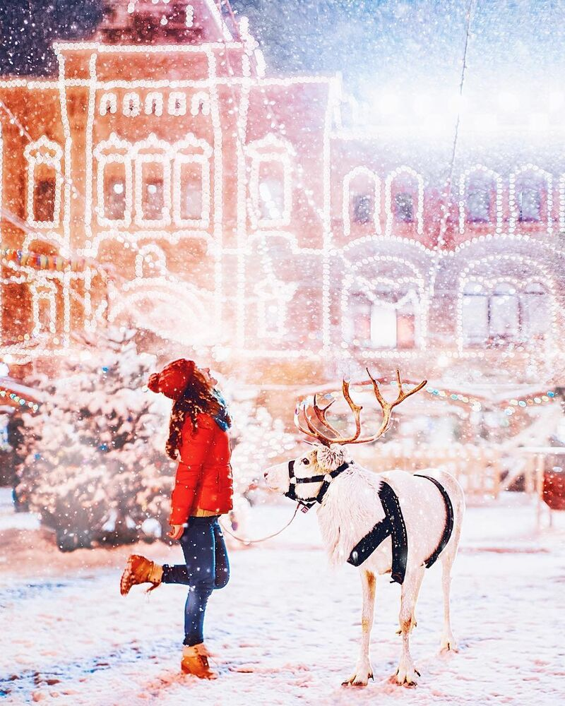 Moscow Captured as a Winter Wonderland