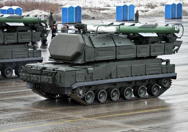 Buk-M2 air defense complex
