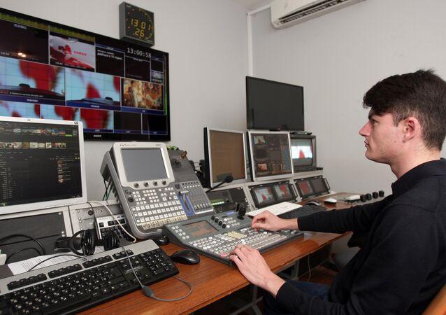 Crimean Tatar TV channel ATR in Simferopol