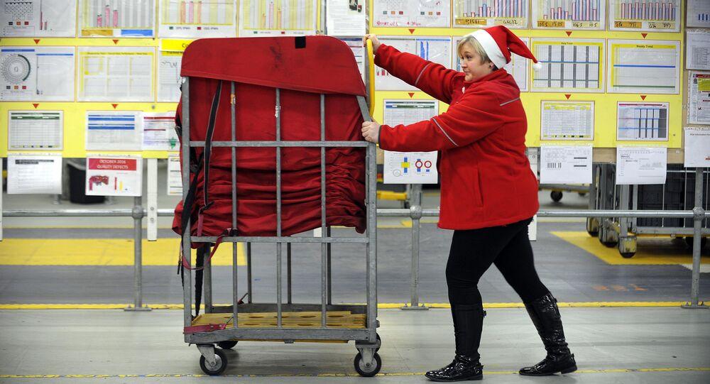 Royal Mail staff member