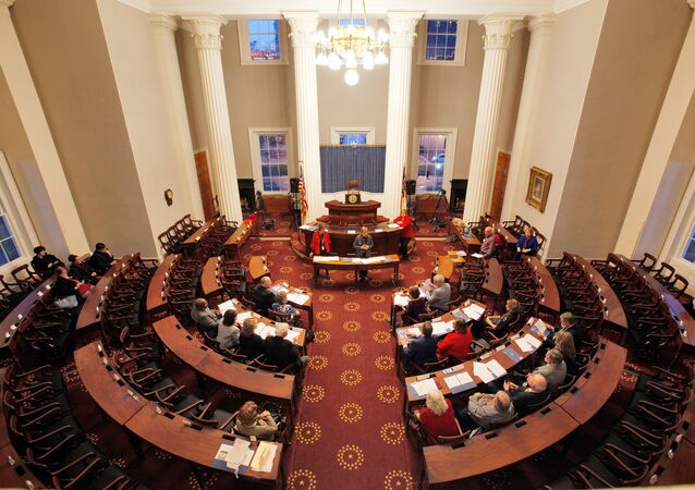 North Carolina Electors rehearse for tomorrow's electoral college vote in the North Carolina State Capitol building in Raleigh, North Carolina, U.S., December 18, 2016