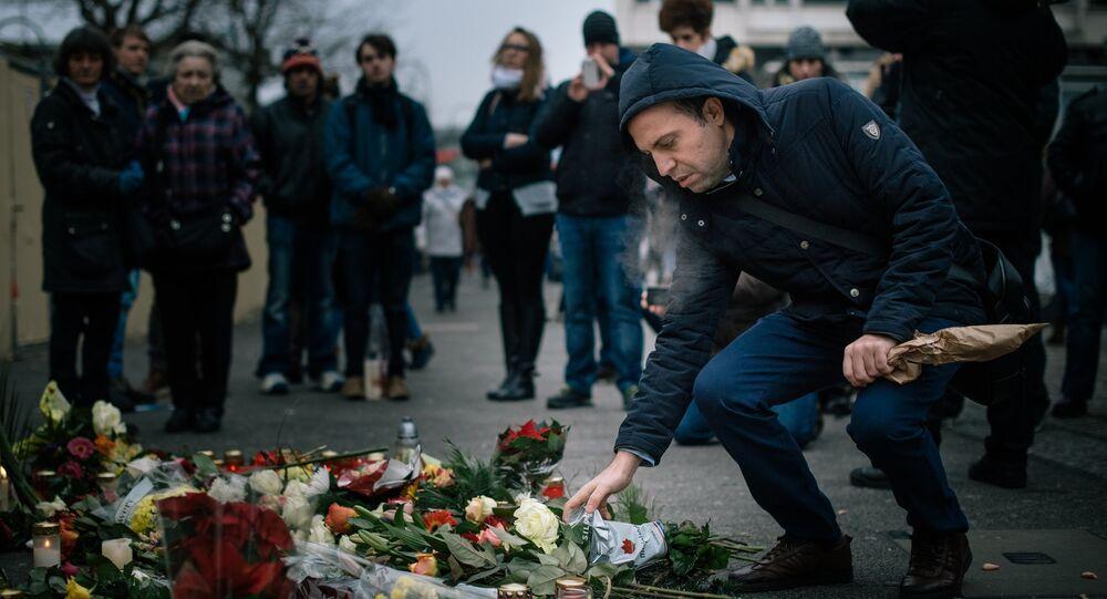 Ситуация на месте теракта в Берлине