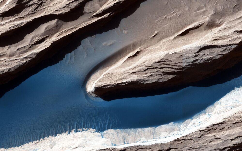 Mars' surface