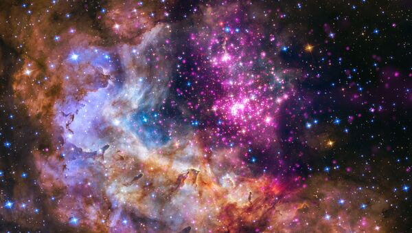 A cluster of young stars – about one to two million years old – located about 20,000 light years from Earth. - Sputnik International