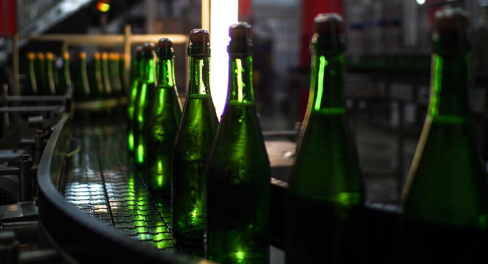 Kornet Moscow sparkling wine factory