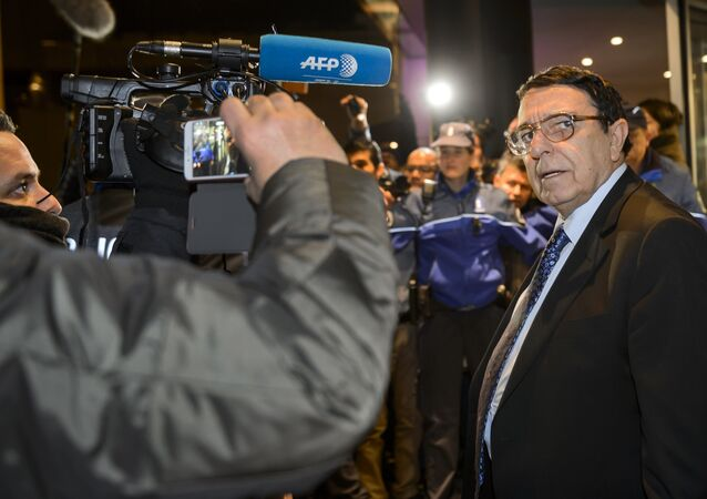 High Negotiations Committee (HNC) spokesman Riyad Naasan Agha (Syria's main opposition body ) (File)