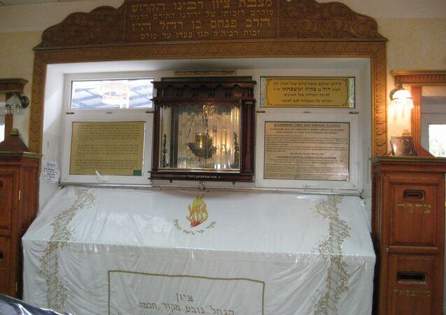 The Tomb of Rabbi Nachman of Breslov in Uman, Ukraine