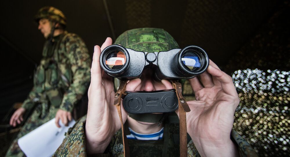 Russian servicemen in Serbia during the Slavic Brotherhood 2016 joint airborne forces exercise of Russia, Serbia and Belarus