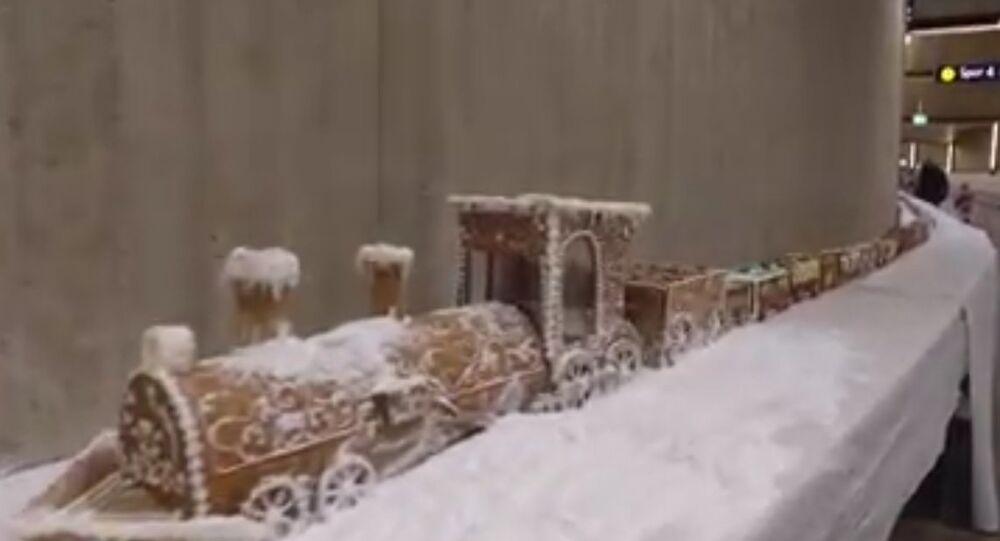 Longest Gingerbread train