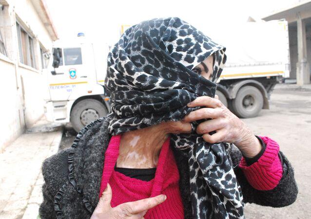 Woman Aleppo