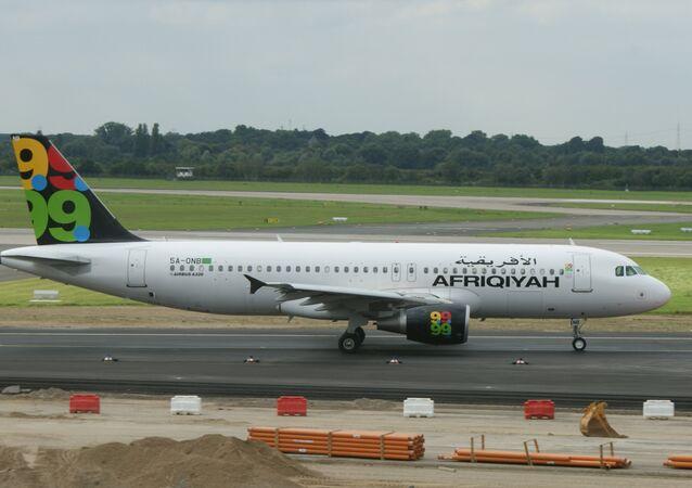 Airbus A320 Afriqiyah Airways. (File)