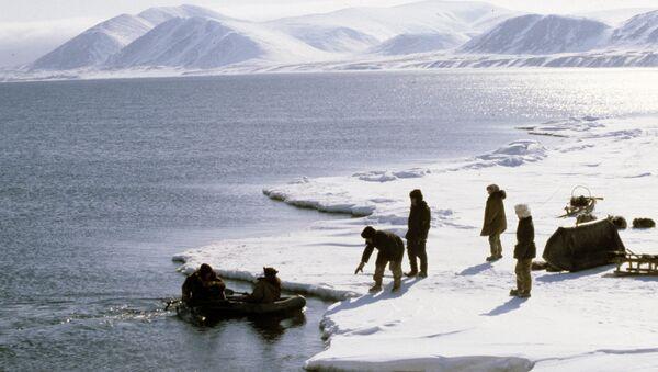 Eskimos from the village of Novoye Chaplino. (File) - Sputnik International