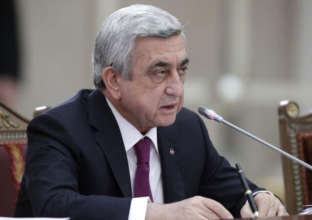 Ex-President Serzh Sargsyan