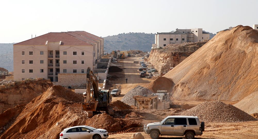 A construction site is seen in the Israeli settlement of Beitar Ilit, in the occupied West Bank December 22, 2016