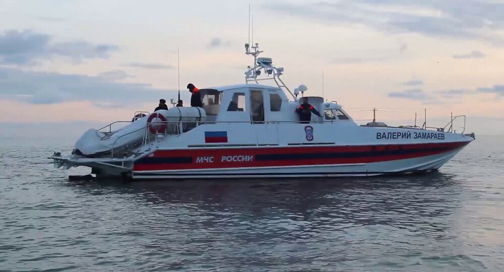 Search operations underway after Tu-154 crash in Black Sea