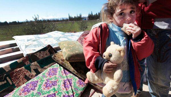 A Syrian girl - Sputnik International