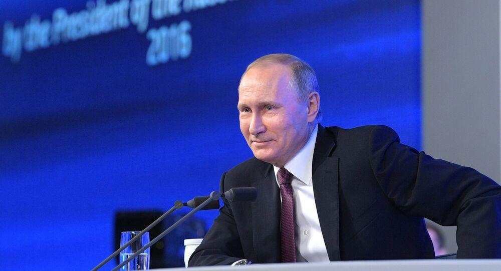 President Vladimir Putin's 12th annual news conference