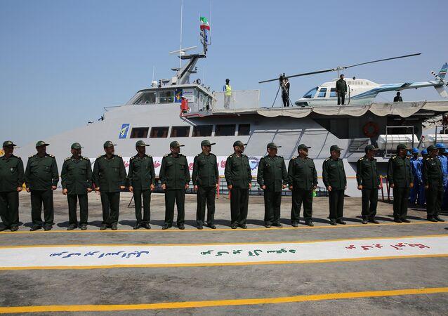 Iranian Warship