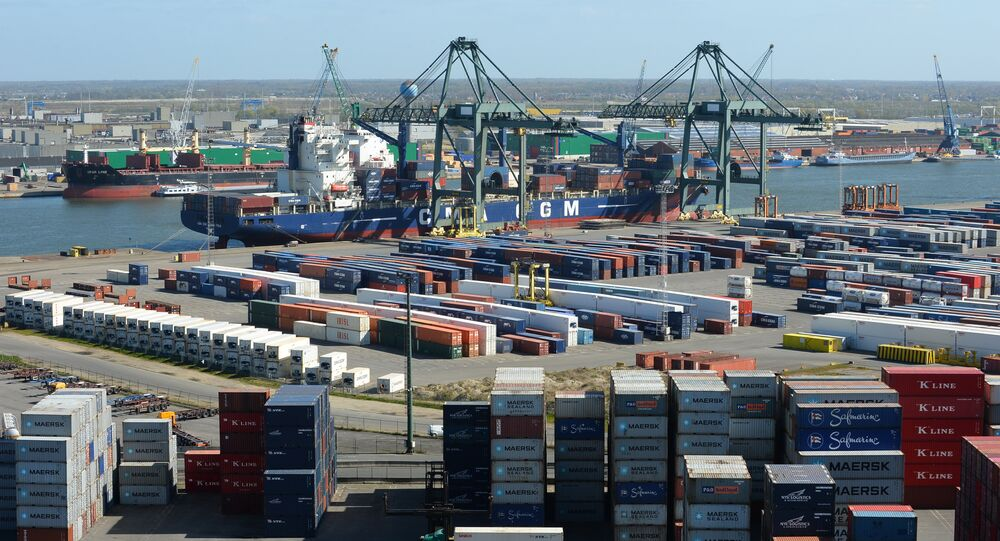 Harbour of Antwerp (File)