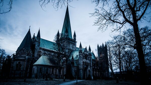 Nidaros Cathedral is a Church of Norway cathedral located in the city of Trondheim in Sør-Trøndelag country, Norway - Sputnik International