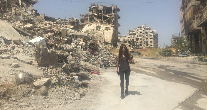 Carla Ortiz in Syria