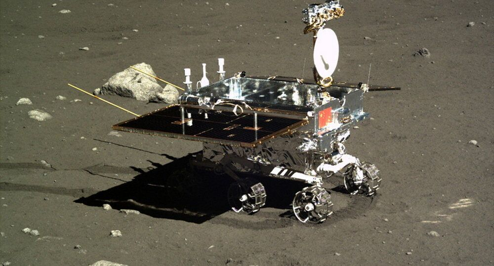 A Chinese moon rover