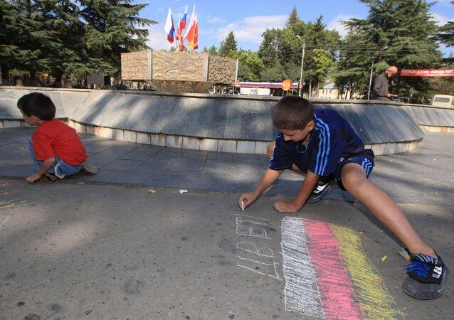 Tskhinvali today. South Ossetia